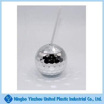 Quality 20OZ metal coating ball cup for party,Cocktail Juice Cup for sale