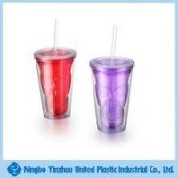Wholesale Double wall plastic tumbler for part decoration from china suppliers