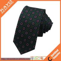 Wholesale Best skinny 100 silk printed ties from china suppliers