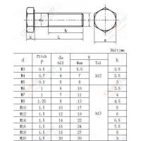 Wholesale Bolt, hexagonal head, for tensile application, ISO thread-4g class NF L22-145-1985 from china suppliers