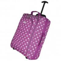 """Wholesale 21"""" Polka Dot Cabin Bag - Purple from china suppliers"""