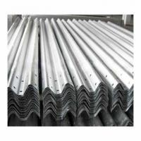 Buy cheap Roadsky Highway Galvanized W Beam Guardrail from wholesalers