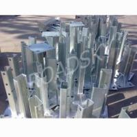 Buy cheap Roadsky Galvanized Guardrail Flange Post from wholesalers
