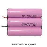 Buy cheap Lithium Battery 12 Volt 2000mAh Lithium Ion Battery Applicate For 12V LED Work Light from wholesalers