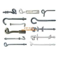 Wholesale Galvanized Forged Steel Cable Hook,Pole Hook from china suppliers