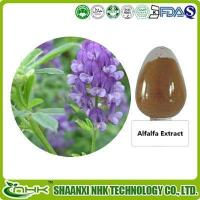 Buy cheap Alfalfa Extract, Alfalfa Saponin Flavones 5%, Orginic Alfalfa Juice Powder from wholesalers