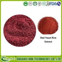 Buy cheap Red Yeast Rice Extract Powder, Monacolin K 5%, Lovastatin, Monascus Purpureus Color Pigment from wholesalers