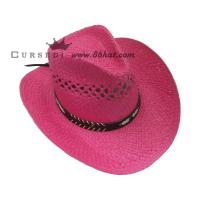 China ladies straw cowboy hats for women s straw hats on sale