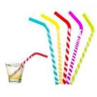 Wholesale Flexible Silicone Reusable Drinking Straws from china suppliers