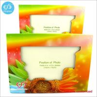 Products Different pattern and color photo frame custom design 20.7*15.5 cm paper photo frame