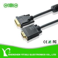 China Yitaili VGA to DVI cable for PC monitor projector on sale