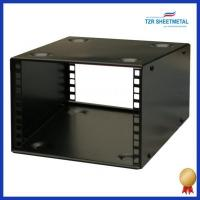 Buy cheap Rackmount chassis 4U 9.5 inch Half-Rack 200mm Stackable Rack Cabinet from wholesalers
