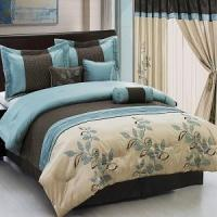 Wholesale Pasadena Blue 11-Piece Bed in a Bag from china suppliers