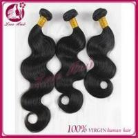 One donor 6A grade human hair 100% brazilian virgin hair unprocessed virgin brazilian hair