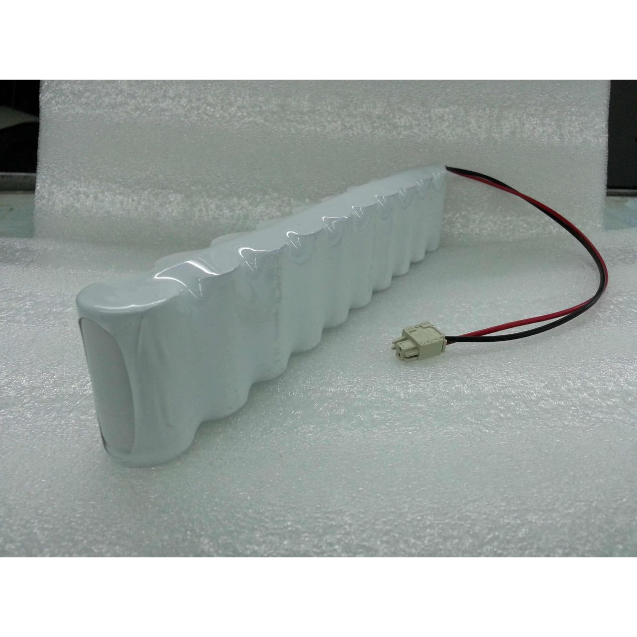Ni-Cd Sub C 1800mAh 12v Rechargeable Battery Pack
