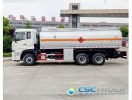 Wholesale 21 CBM Heavy Duty 3 Axles Diesel Tanker Truck from china suppliers