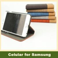 Wholesale Flip Leather Cover Wallet Card Holder Phone Case for Samsung Galaxy S3 i9300 S5 Note 4 from china suppliers