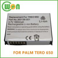 China Replacement PDA Battery for Palm Treo 650, Treo 700w, Treo 800 Series on sale