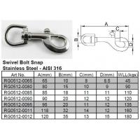 Wholesale Swivel Bolt Snap from china suppliers