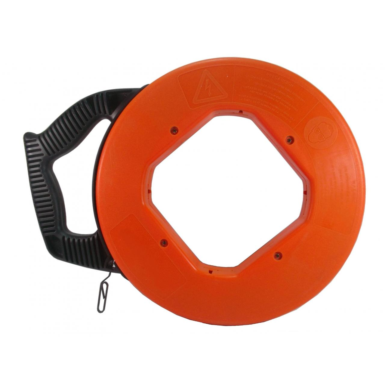 Cable Puller TPCP Orange shell of steel Fish Tape 25M TPCP