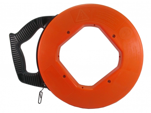 Quality Cable Puller TPCP Orange shell of steel Fish Tape 25M TPCP for sale