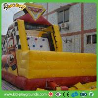 Best Racing Car Themed Inflatable Slide wholesale