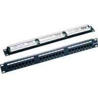 UTP Cat5e 24port Krone & 110 Dual IDC 19'' Patch panel
