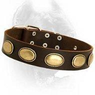 Wholesale Retro Rulz - Gorgeous Vintage Dog Leather Collar from china suppliers