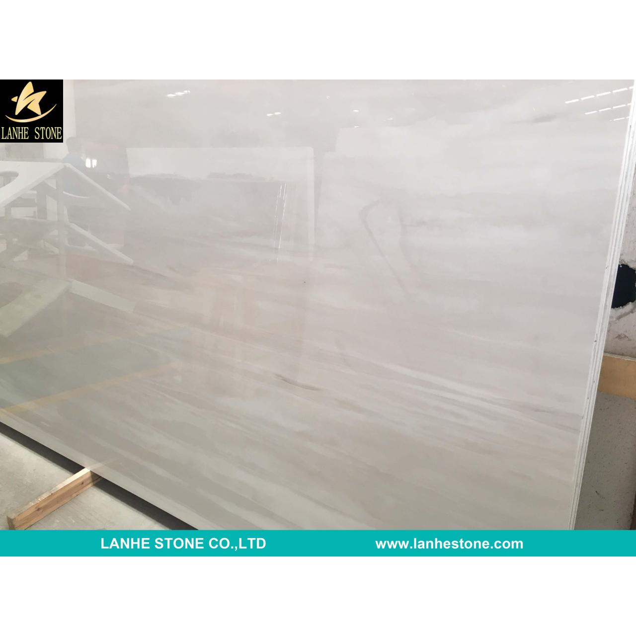 Wholesale White Wood Nano Micro Crystallized Stone Slab China White Micro Crystal Glass Stone Slabs Tiles from china suppliers