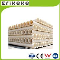 PVC pipe and fittings Wholesale corrugated drain pipe double wall pvc pipe