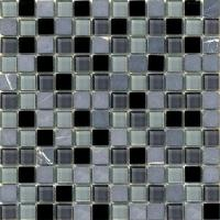 Wholesale SGM-BSH21Dark Color Glass Stone Mosaics from china suppliers