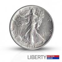 Buy cheap 1943 Walking Liberty Half Dollar - About Uncirculated from wholesalers
