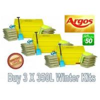 Wholesale Special Offers 350 Litre Grit Bin Winter Pack Special Offer from china suppliers