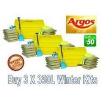 Wholesale Offers with Free Gifts 3x 350 Litre Grit Bin Winter Pack with Free Gift from china suppliers