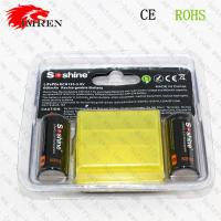 Wholesale Soshine LiFePO4RCR123-3.6V 600mAh rechargeable battery from china suppliers