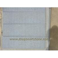 China Stone Type Bush-hammed gray lava tile 002  [ Bush-hammered Lava Gray Tile ] on sale