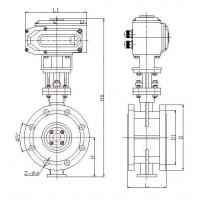 593D-Flanged Motorized Butterfly Valves