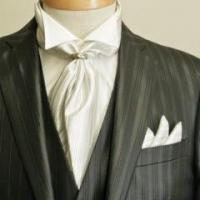 Wholesale Black Suit With Ascot Tie from china suppliers