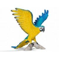 Schleich Blue and Yellow Macaw