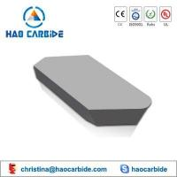 B1 Brazed tips of tungsten carbide insert