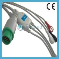 Wholesale Mennen One piece 3-lead ECG Cable with leadwires from china suppliers