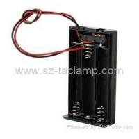 China Accessories 1.5V Three AAA Battery Holder (Black) on sale