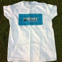Wholesale Noah's Logo Ladies T-Shirt - WHITE from china suppliers