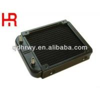 Wholesale small aluminium water cooler radiator-120mm from china suppliers
