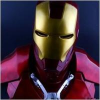 NEW!The Avengers 1/1.5 IRON MAN / Statue/ Colour:Red
