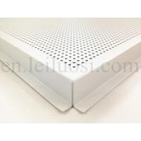 Wholesale 595*595mm Perforated Aluminum Ceiling Tile from china suppliers