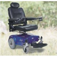 Wholesale power folding super lightweight portable aluminium wheelchair with Battery 12V 35Ah from china suppliers