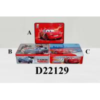 Wholesale Disney Cars 2 31.8cm x 22.5cm x 10.4cm Rectangle Tin Box from china suppliers