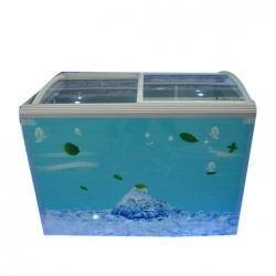 Quality Glass Top Chest Freezer for sale