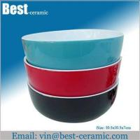 Wholesale Ceramic bowl ceramic mixing bowl set from china suppliers